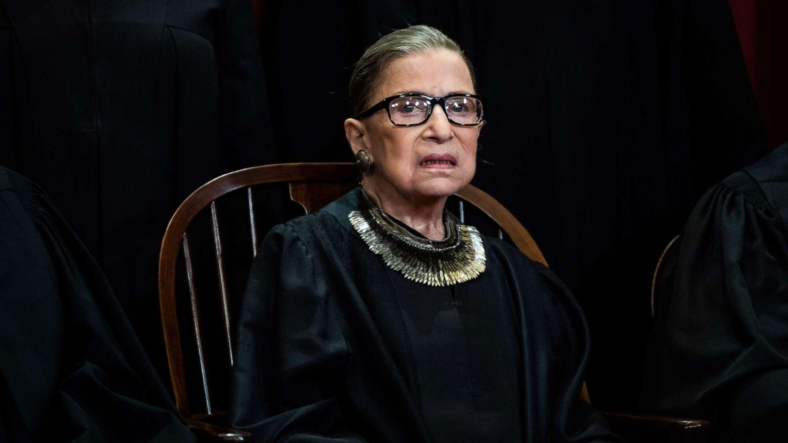 Supreme Court Justice Ruth Bader