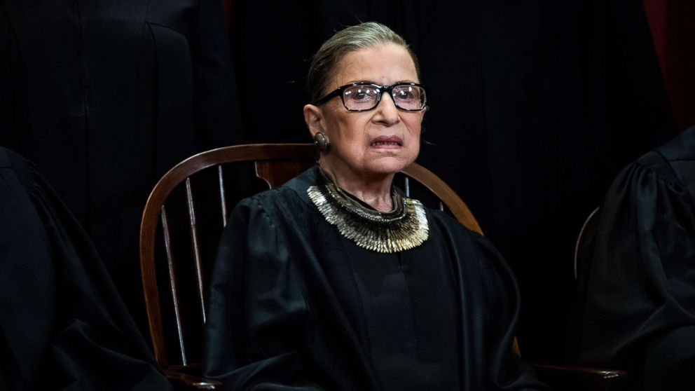 After missing arguments for first time in 25 years, Justice Ruth Bader Ginsburg returns thumbnail
