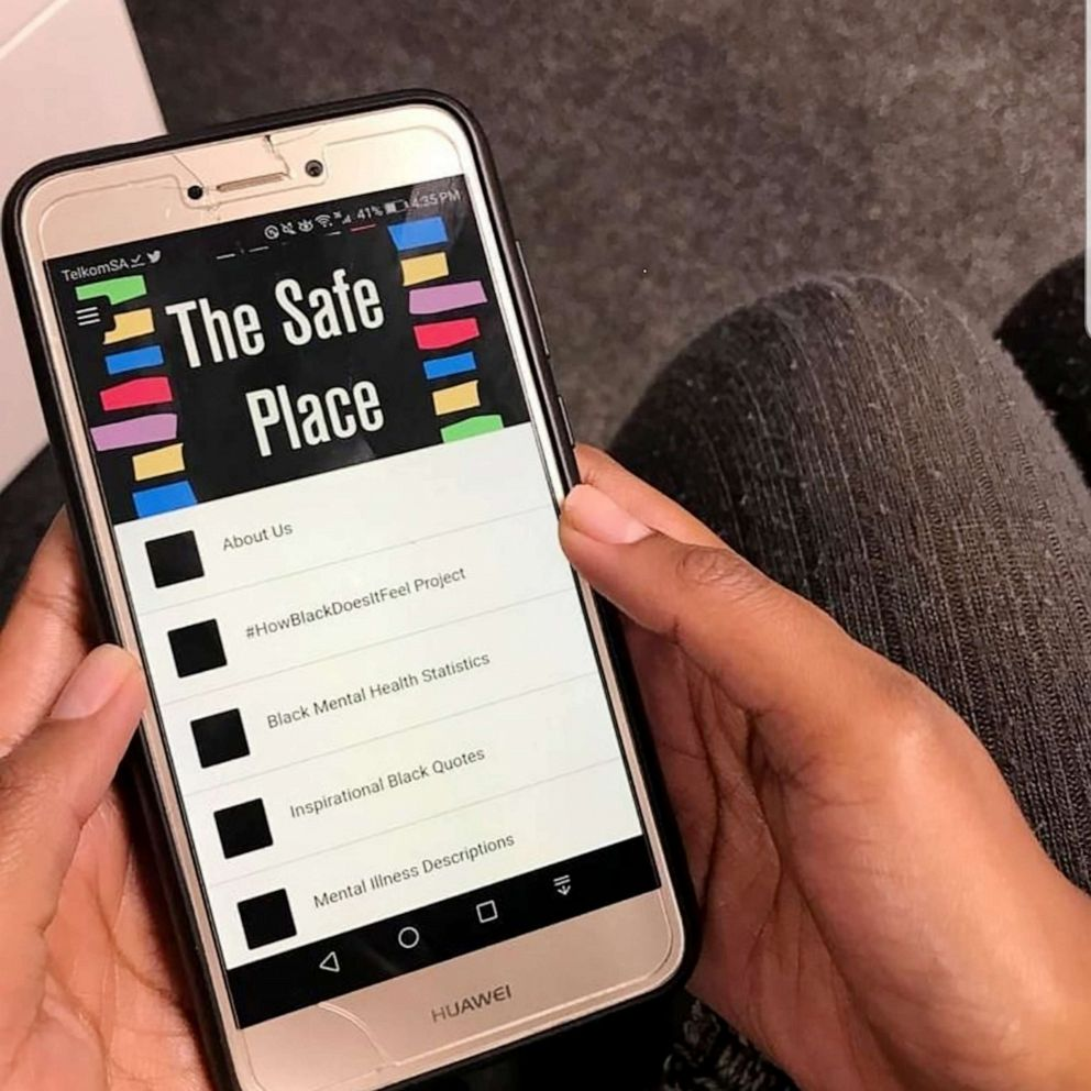 The Safe Place is an app created by mental health activist Jasmin Pierre.