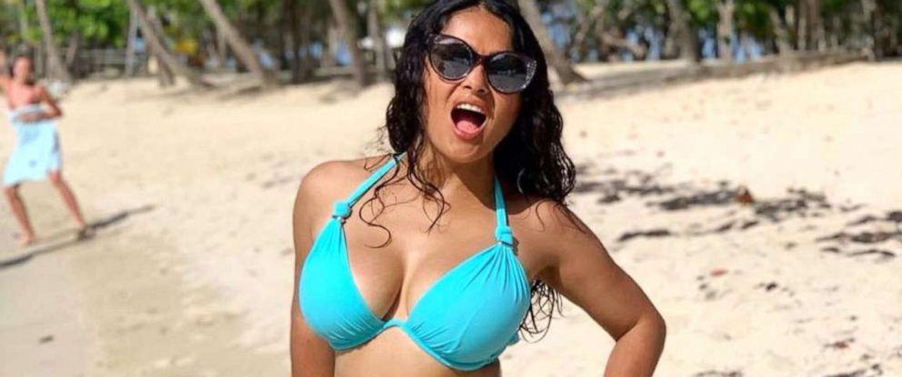 Salma Hayek celebrates turning 53 by sharing a bikini photo
