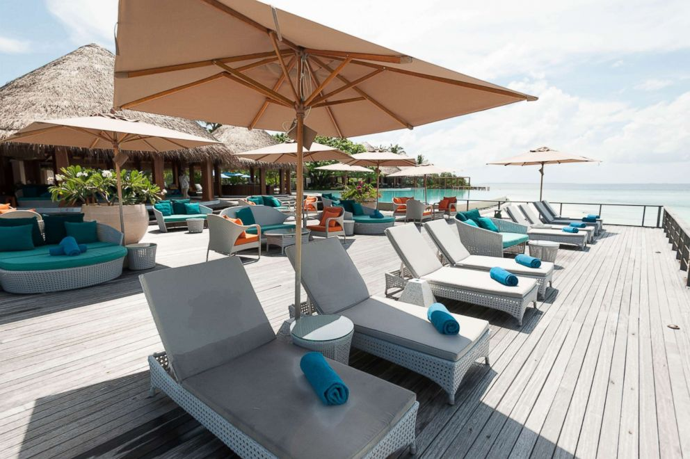 PHOTO: Sand Bar at Dusit Thani Maldives.