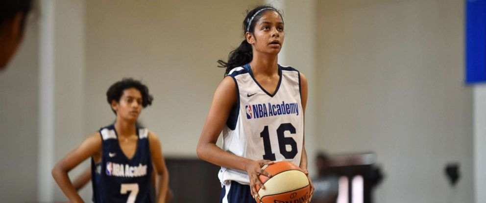 PHOTO: Northern Arizona recruit Sanjana Ramesh was Indias captain at the 2017 FIBA U16 Asia Cup.