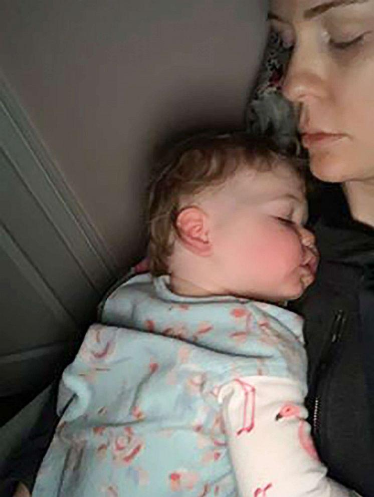 PHOTO: Sarah Buckley Friedberg of Needham, Mass. is seen in an undated selfie with her daughter, Harper, 1.