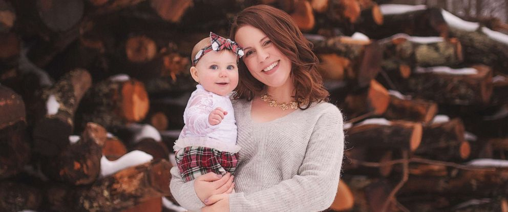 PHOTO: Sarah Buckley Friedberg of Needham, Mass., is seen in this undated photo with her daughter, Harper, 1. Friedberg posted a 1,050-word Facebook status about societys view of working mothers.