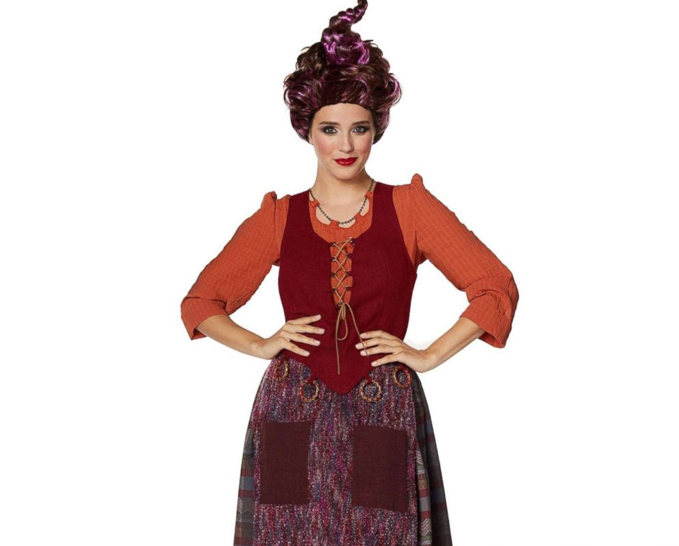 PHOTO: The Adult Sarah Sanderson Costume Deluxe – Hocus Pocus is available for $129.99.