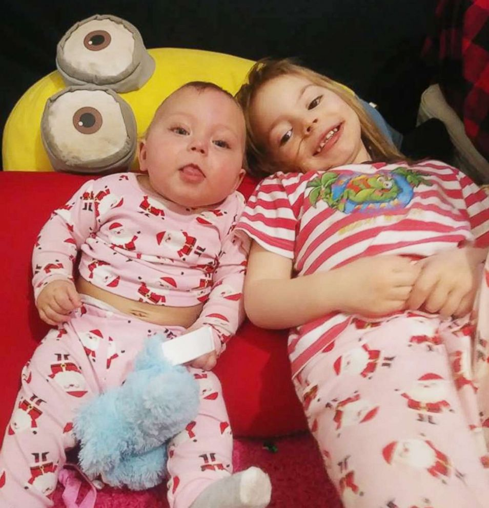 Baby hears sister for first time and our hearts can't take it