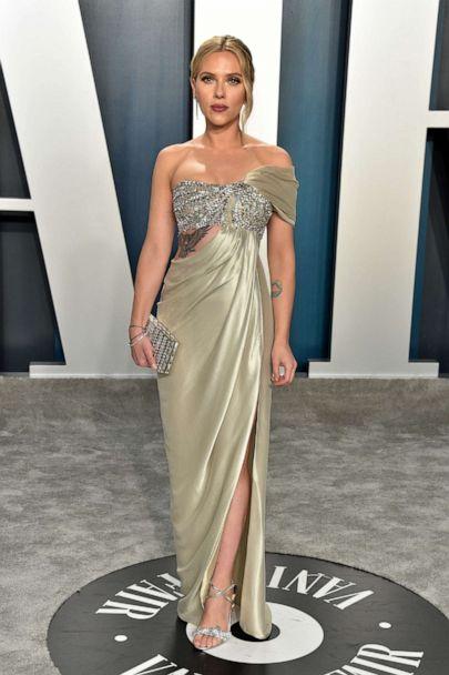 Image result for scarlett johansson vanity fair dress
