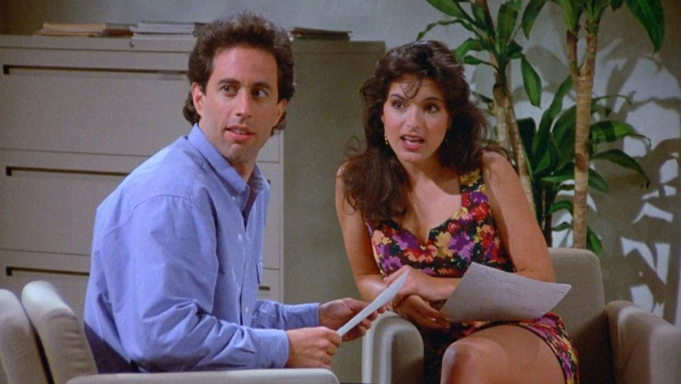 PHOTO: Mariska Hargitay appears in a season four episode of Seinfeld.
