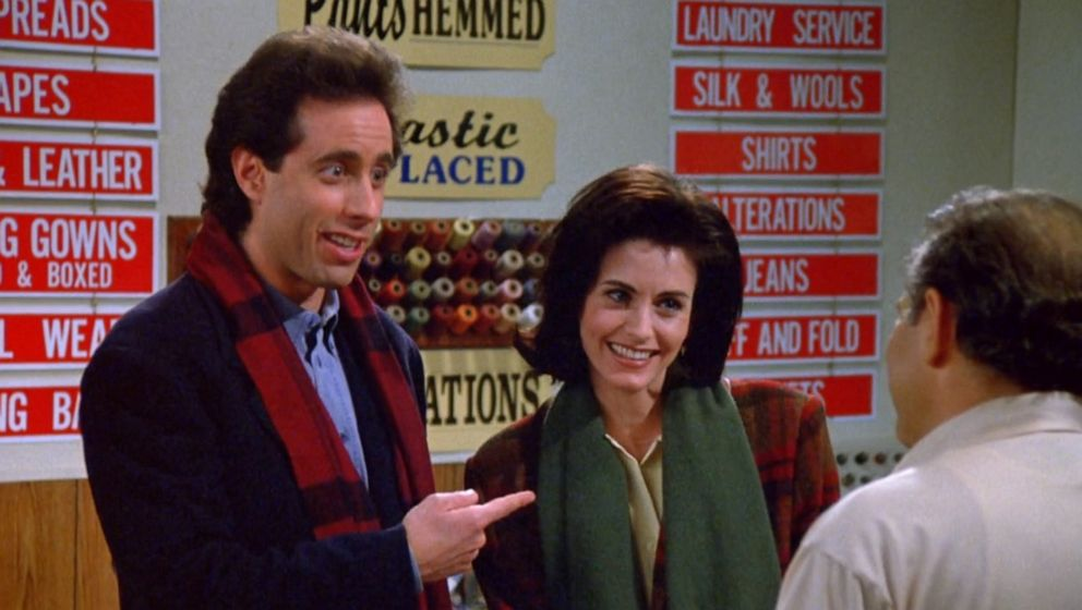 PHOTO: Courteney Cox appears in a season five episode of Seinfeld.