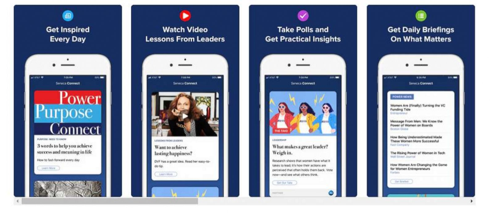 These apps aim to make networking easier for women - ABC News