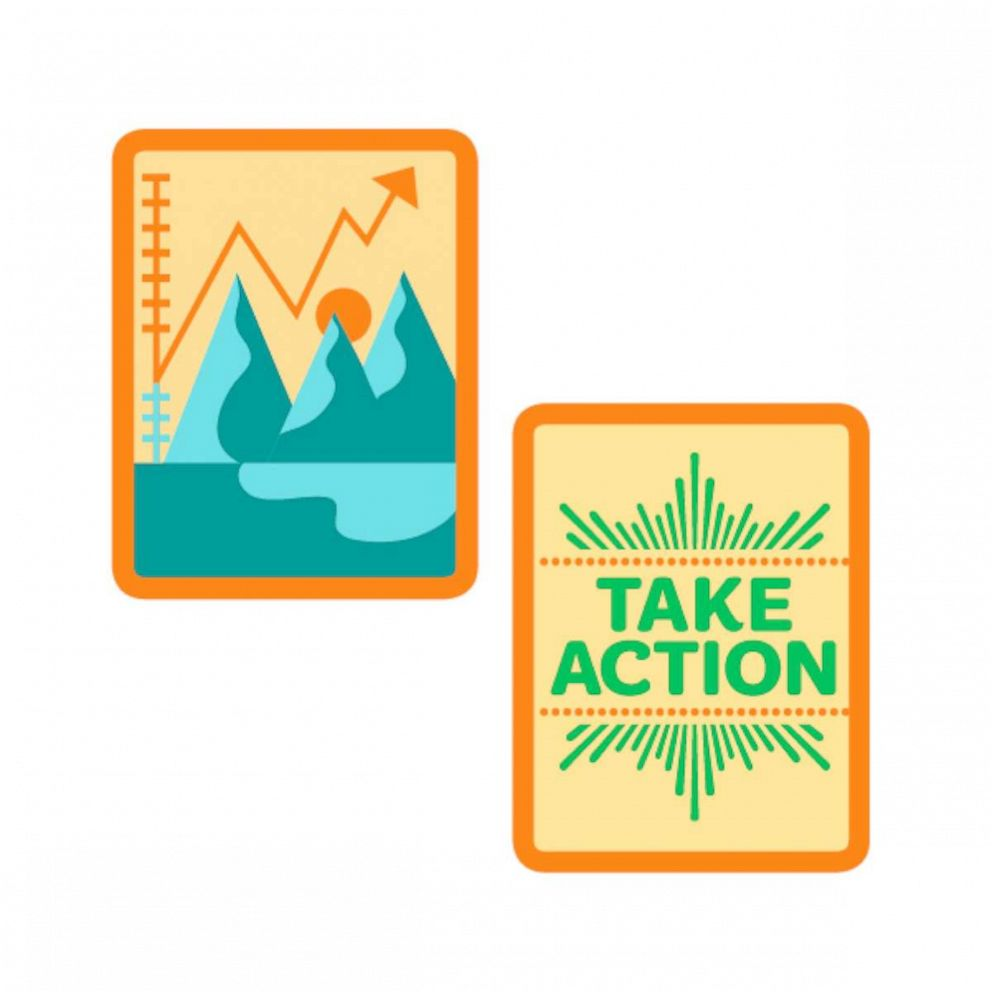 PHOTO: New Girl Scouts badge entitled; Think like a Citizen Scientist.