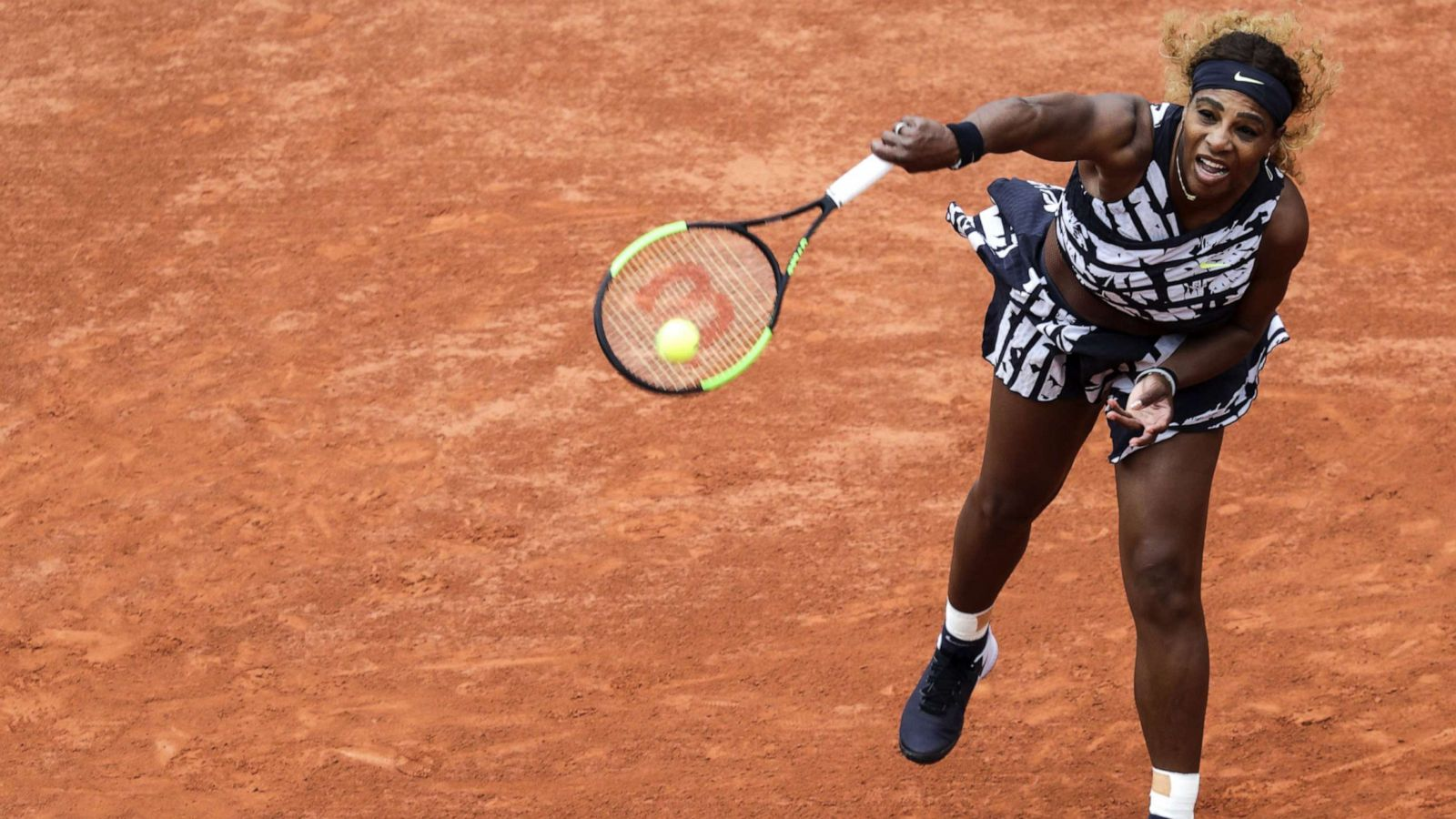 5008c34a After the catsuit, Serena Williams debuts new high-fashion outfit for 2019 French  Open