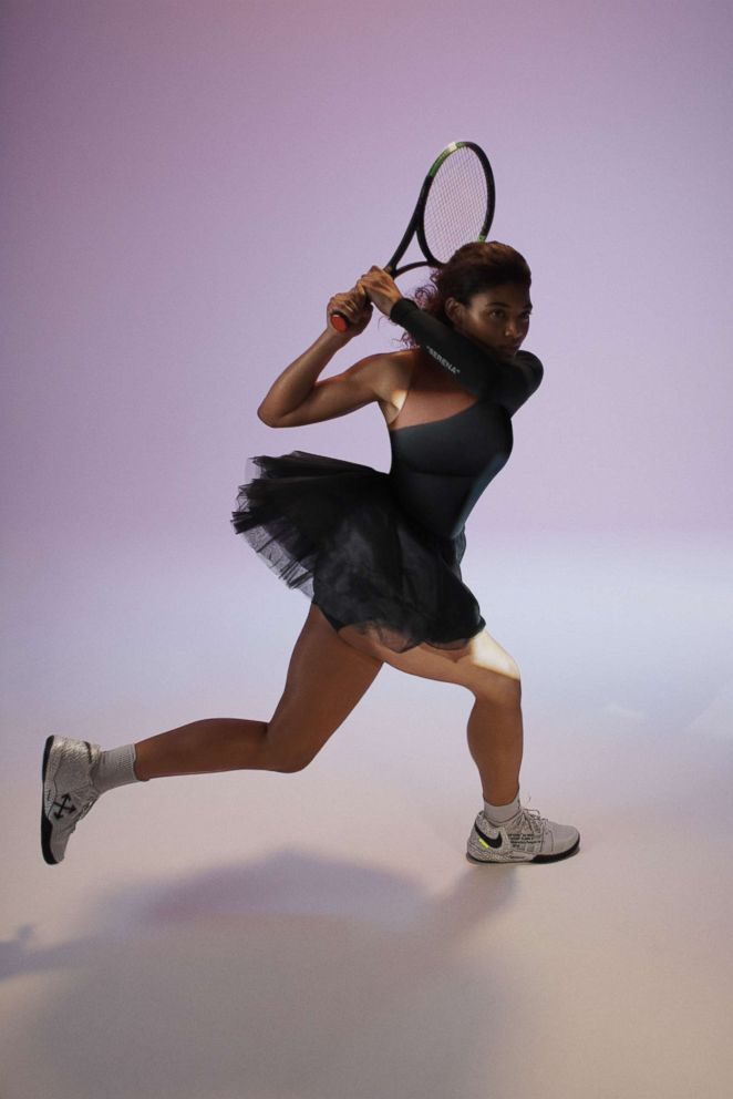 PHOTO: Serena Williams new her Nike campaign.