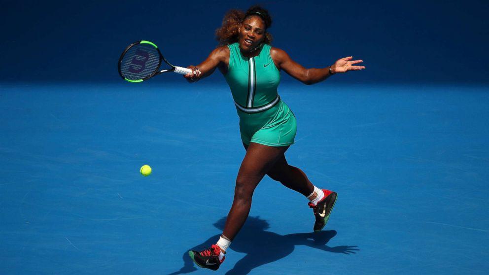 628c64eeb081 Serena Williams says her Australian Open green jumpsuit is ...