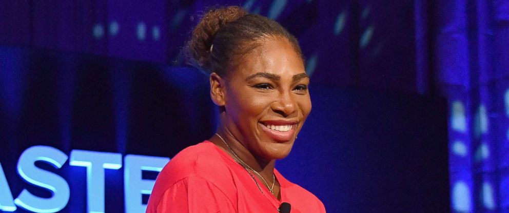 PHOTO: Serena Williams attends the Citi Taste Of Tennis gala at Cipriani 42nd Street in New York City, Aug. 23, 2018.