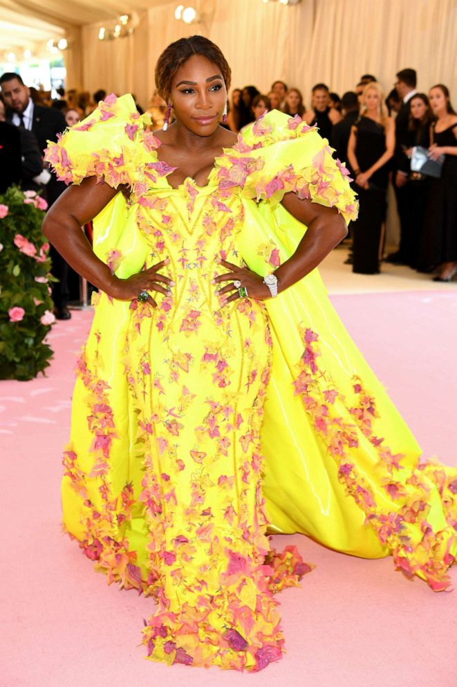 PHOTO: Serena Williams attends the 2019 Met Gala Celebrating Camp: Notes on Fashion at the Metropolitan Museum of Art, May 6, 2019, in New York City.
