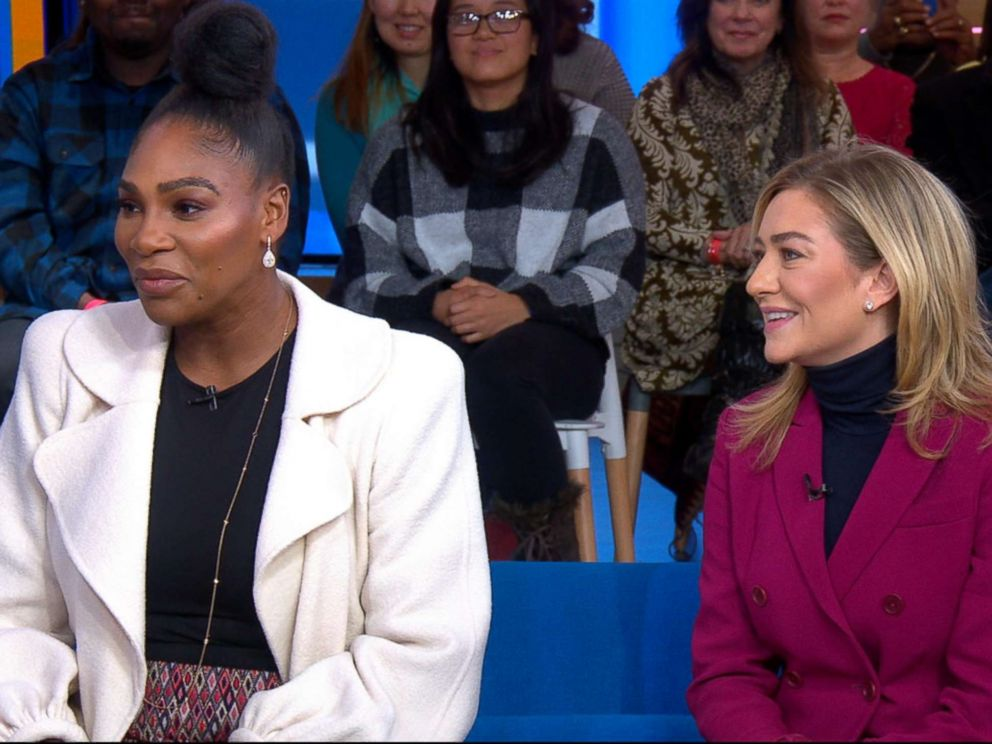 PHOTO: Serena Williams appears on Good Morning America, Jan. 31, 2019.