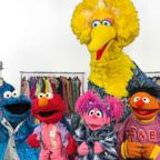 Sesame street characters got a makeover from InStyle magazine.