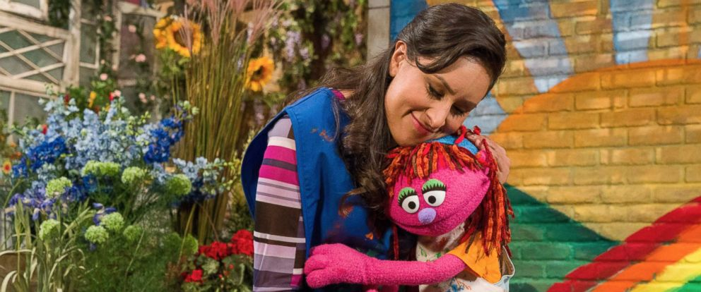 PHOTO: Lily, a seven-year-old Muppet, is part of Sesame Streets new initiative on homelessness.