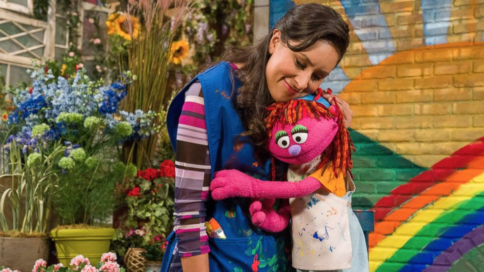 Lily, a seven-year-old Muppet, is part of Sesame Street's new initiative on homelessness.