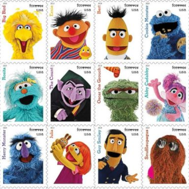 USPS to release 'Sesame Street' stamps in honor of show's