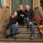 """Maddy Cunningham surprised her mother, Heather, with a visit to the """"Sesame Street"""" set in New York City on Oct. 25, 2018."""