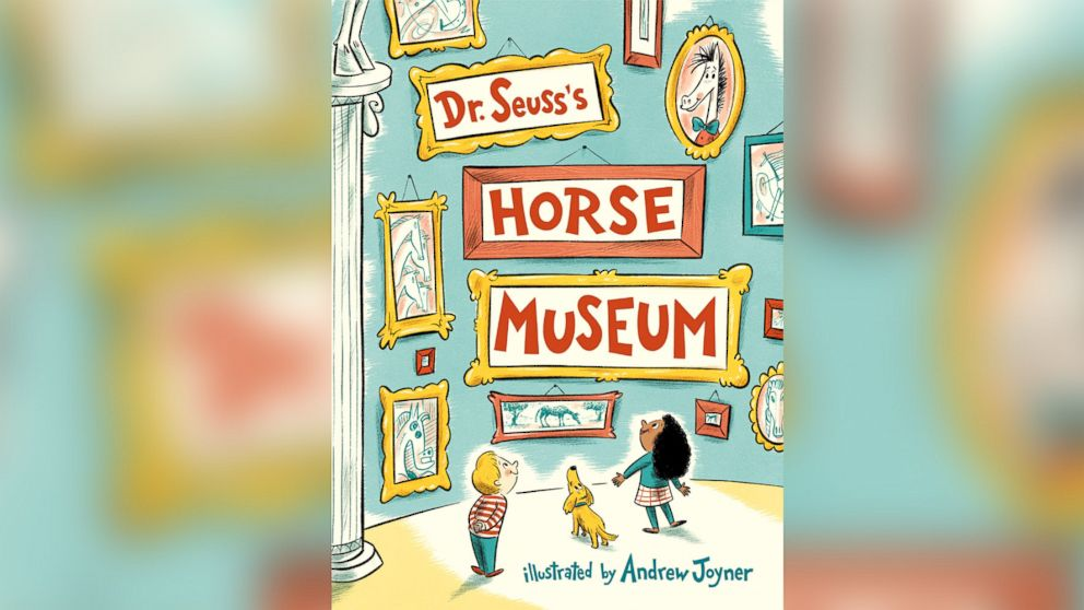 "PHOTO: Legendary children's writer Dr. Seuss will be out with a new book this fall, ""Horse Museum."""