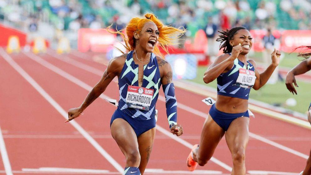 Sha'Carri Richardson's Olympic suspension turns to heated debate on  cannabis - ABC News