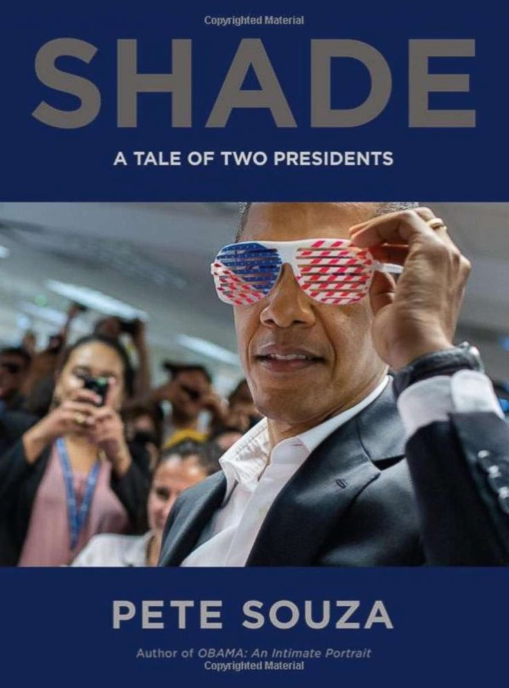 PHOTO: Shade: A Tale of Two Presidents by Chief Official White House photographer Pete Souza is available on Amazon.