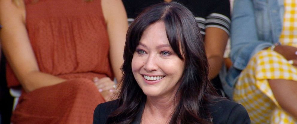 """PHOTO: Shannen Doherty appears on """"Good Morning America,"""" Aug. 5, 2019."""