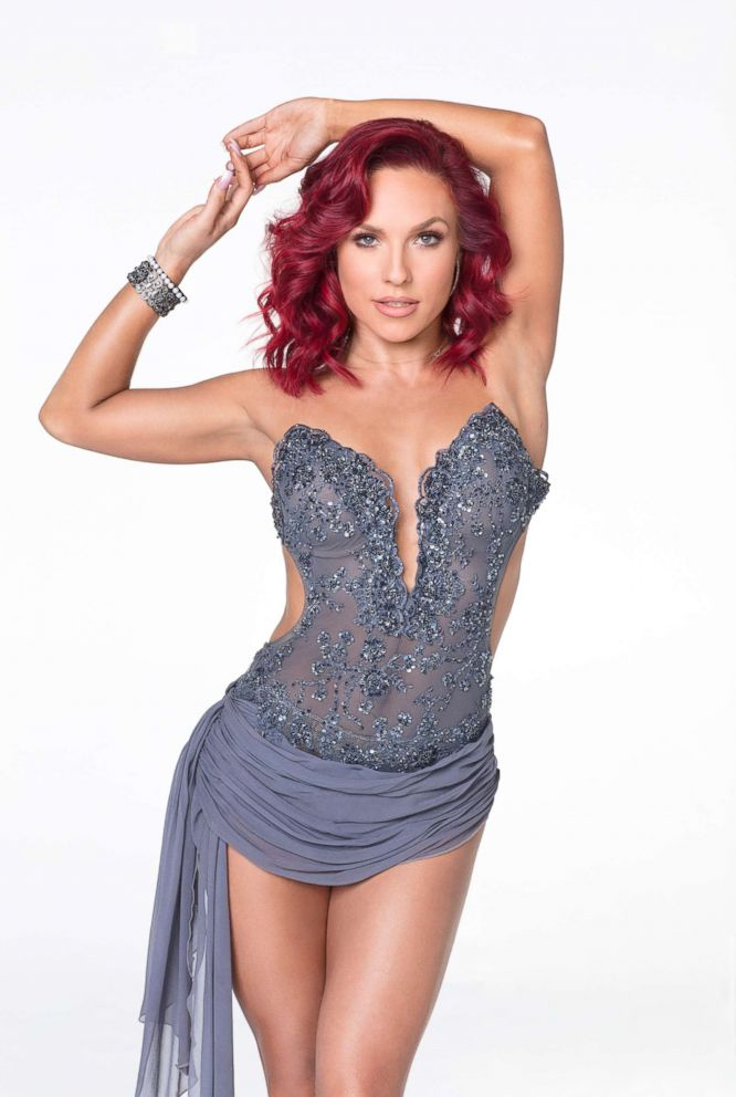"""Sharna Burgess from """"Dancing with the Stars"""" is pictured."""