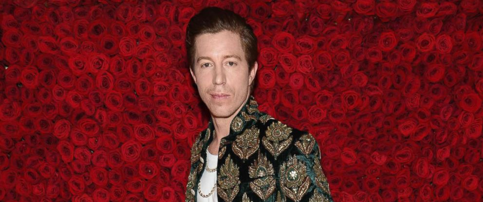PHOTO: Shaun White attends the Heavenly Bodies: Fashion & The Catholic Imagination Costume Institute Gala at The Metropolitan Museum of Art, May 7, 2018, in New York.