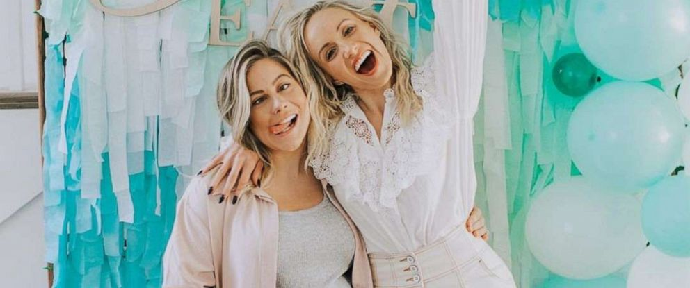 PHOTO: Nastia Liukin, left, posted this photo to her Instagram with pregnant Shawn Johnson announcing she was going to be the babys godmother.