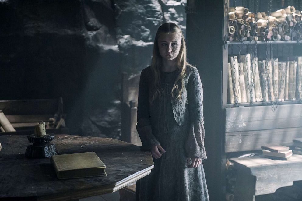 Kerry Ingram, as Shireen Baratheon, in a scene from 'Game of Thrones.'