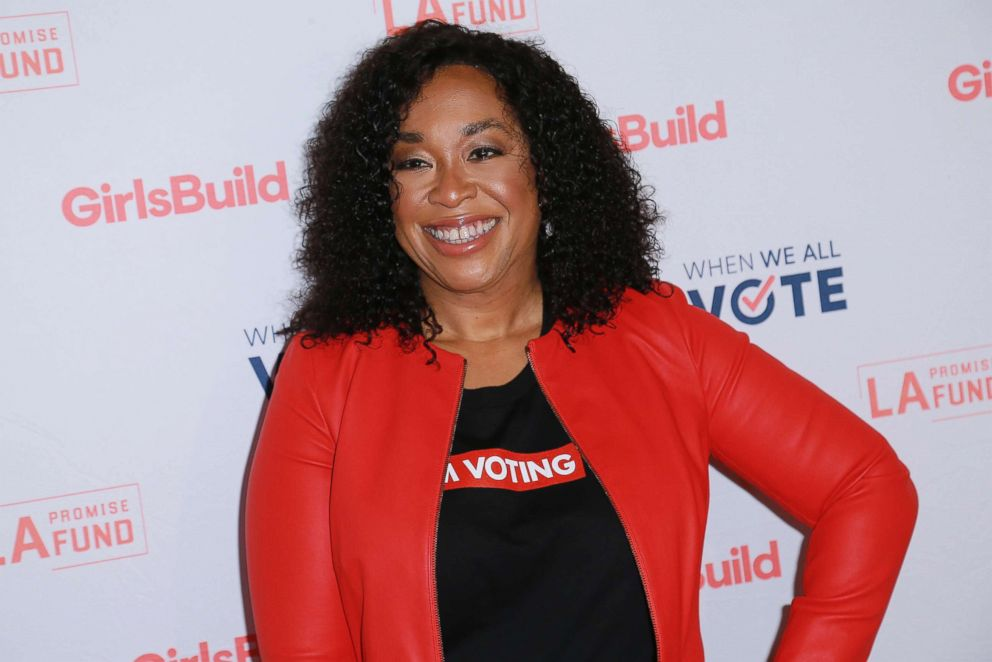 PHOTO: Producer Shonda Rhimes attends LA Promise Funds Annual Summit at USC Galen Center, Sept. 28, 2018, in Los Angeles.