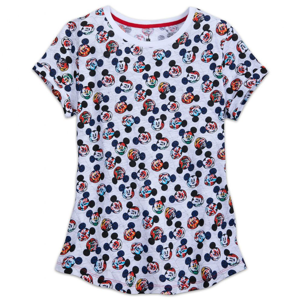 PHOTO: Mickey Mouse Epcot Flags Shirt for Women