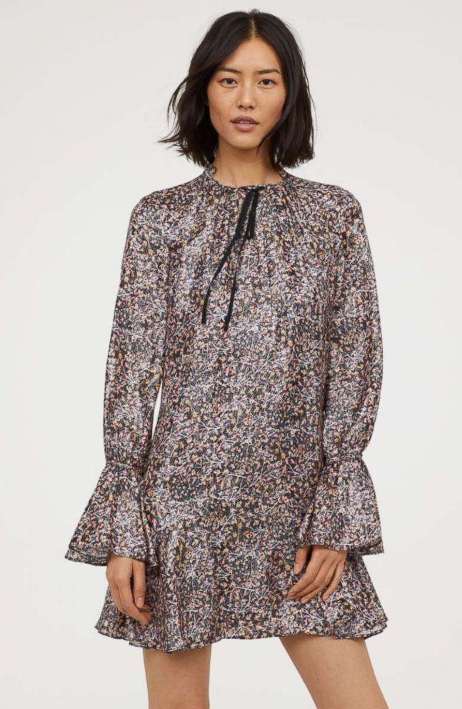 PHOTO: Silk-blend Dress