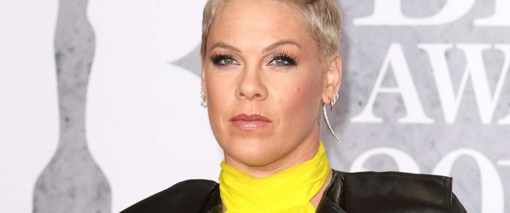 PHOTO: Pink attends the BRIT Awards 2019 in London, Feb. 20, 2019.