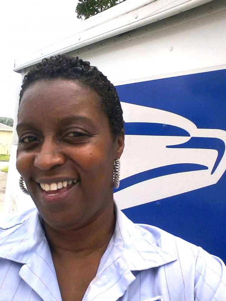 PHOTO: Stephanie Hayes-Bostic worked as a USPS letter carrier for 32 years before retiring.