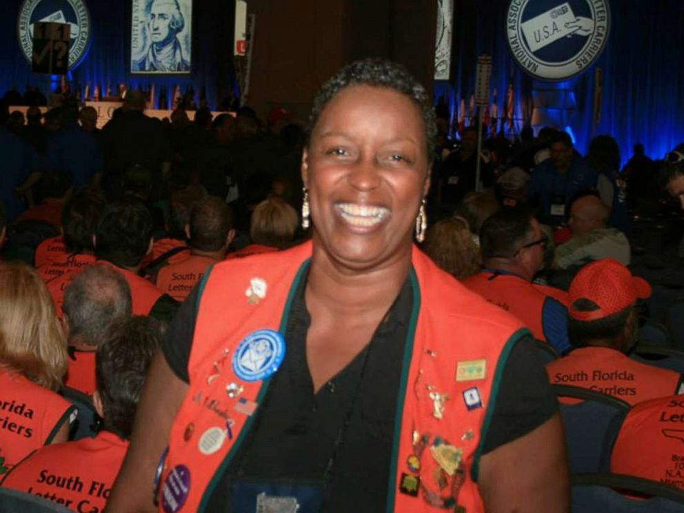 PHOTO: Stephanie Hayes-Bostic retired from the USPS in 2018.