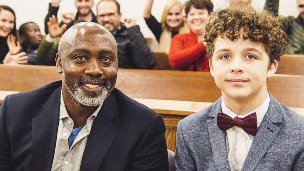 PHOTO: Tony Mutbazi had been in the foster care system since the age of 2. In November 2019, he was adopted by Peter Mutbazi of Charlotte, North Carolina.
