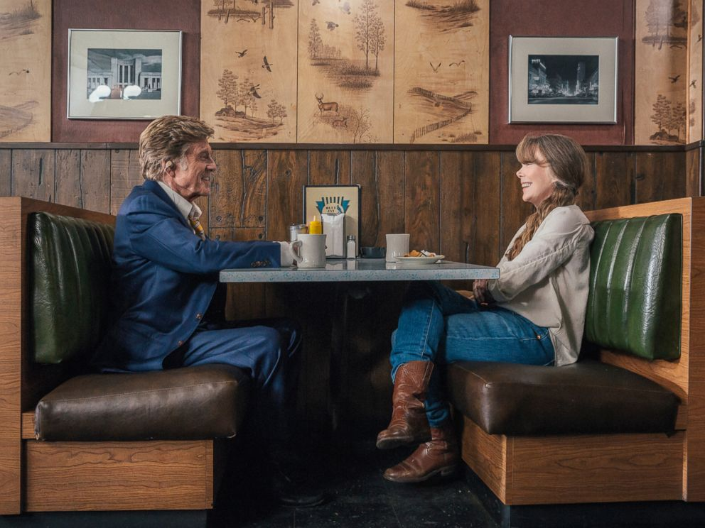 PHOTO: Robert Redford as Forrest Tucker and Sissy Spacek as Jewel in the film THE OLD MAN & THE GUN.