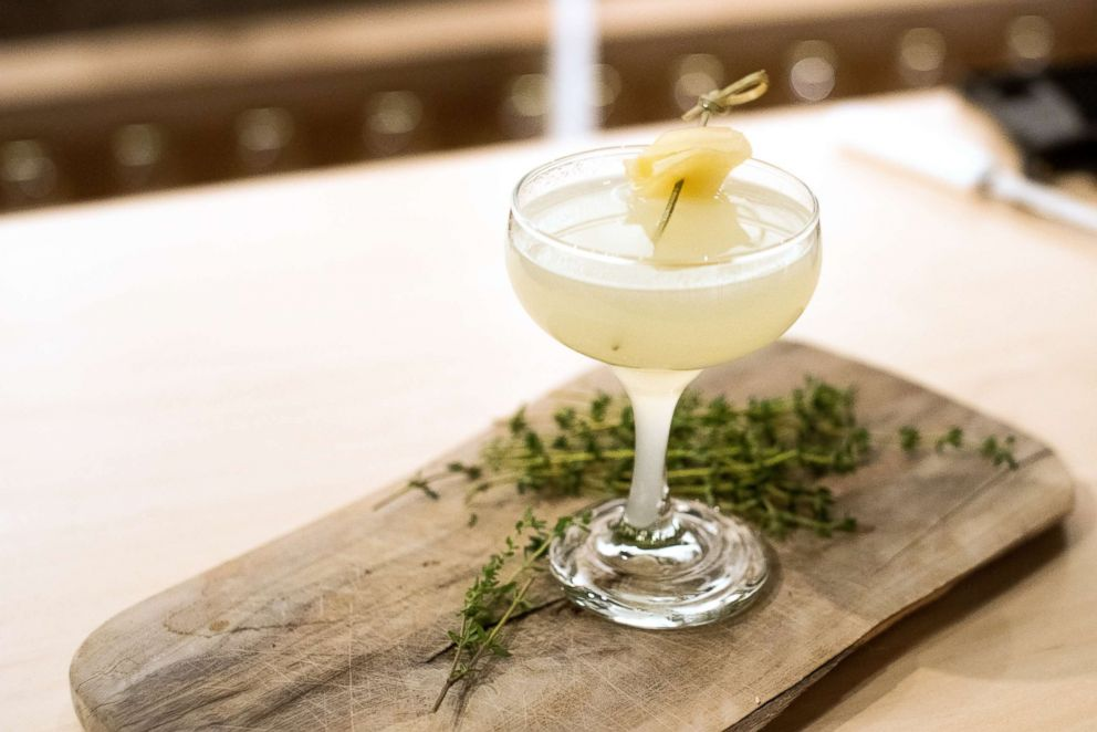 PHOTO: Spice things up with this ginger, lemon and mezcal smokeshow cocktail.