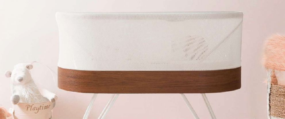PHOTO: The SNOO Smart Sleeper bassinet is now available for rental.