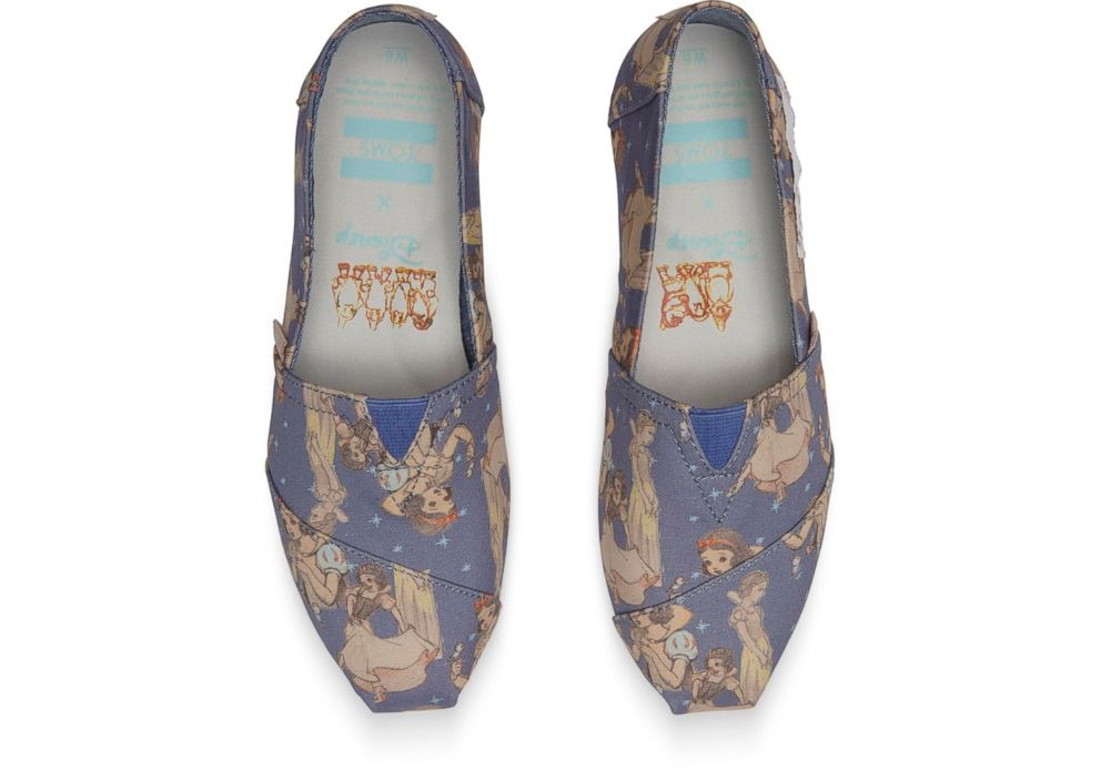PHOTO: These Snow White TOMS shoes are based off real archival sketches.