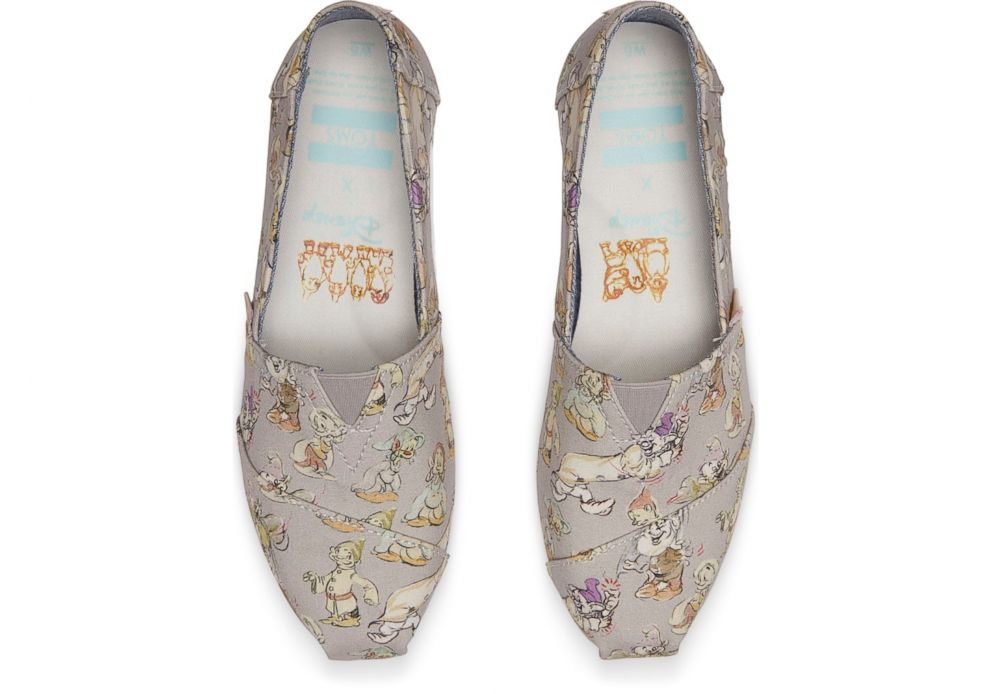 PHOTO: These Seven Dwarfs TOMS shoes are based off real archival sketches.