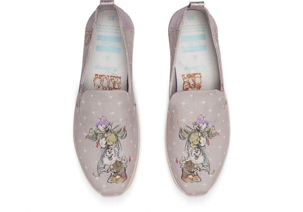 Disney, TOMS Snow White shoes