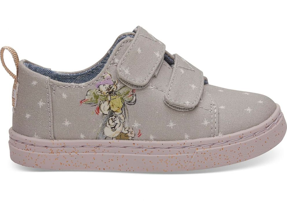 PHOTO: The TOMS Seven Dwarfs shoes also come in toddler sizes.