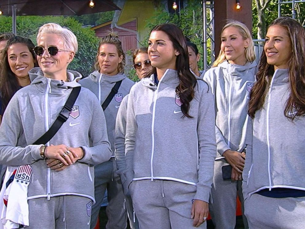 aae5dbdd131 PHOTO: The U.S. Womens National Soccer Team stopped by GMA on May 24, 2019