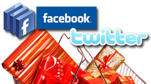 Photo: How social networking sites can help you save money on holiday shopping.